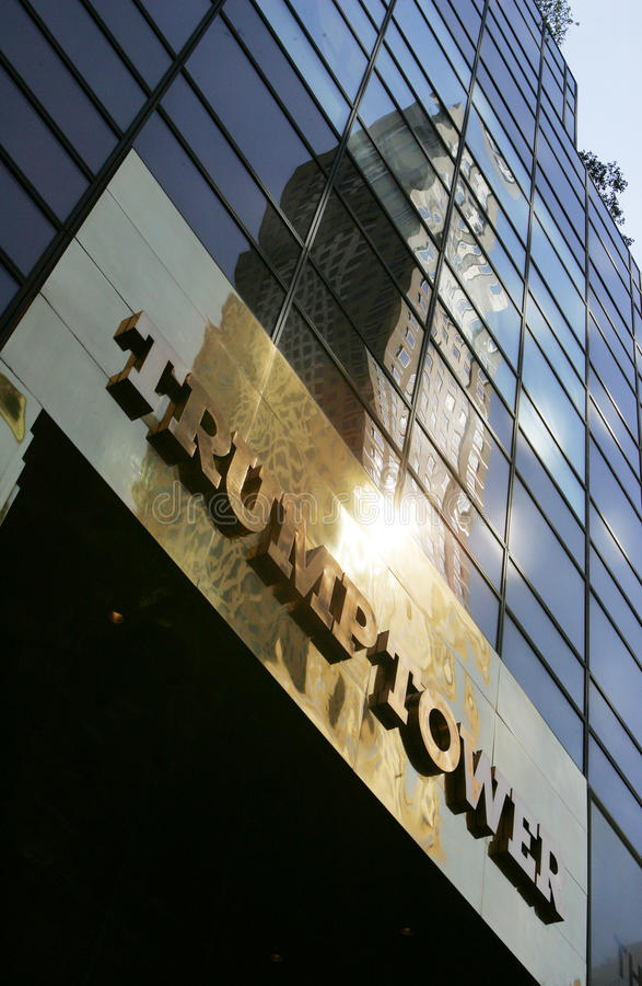 Tour New York City d'atout photographie stock