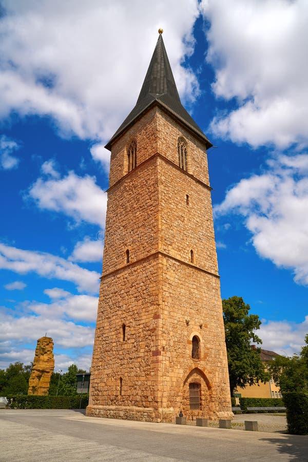 Tour Nordhausen Harz Allemagne de St Petri Kirche images stock