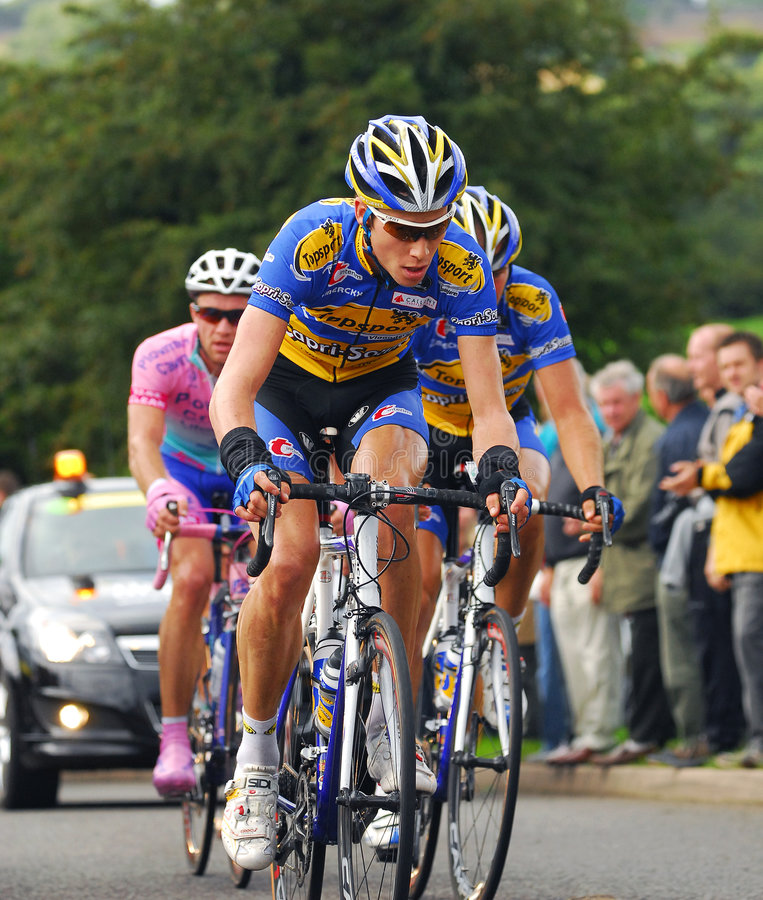 Free Tour Of Britain Cycle Race - Day 4 Stock Images - 6351584
