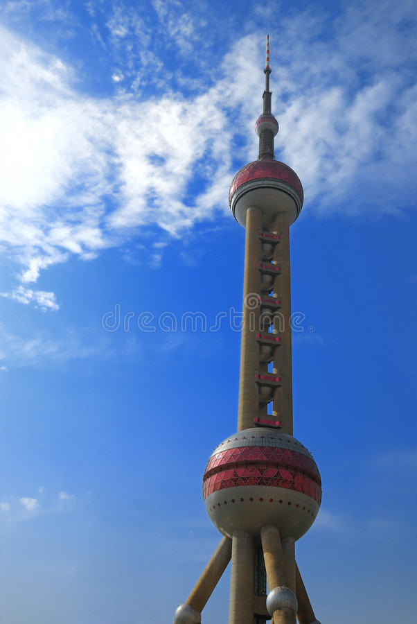 tour orientale de perle photo stock
