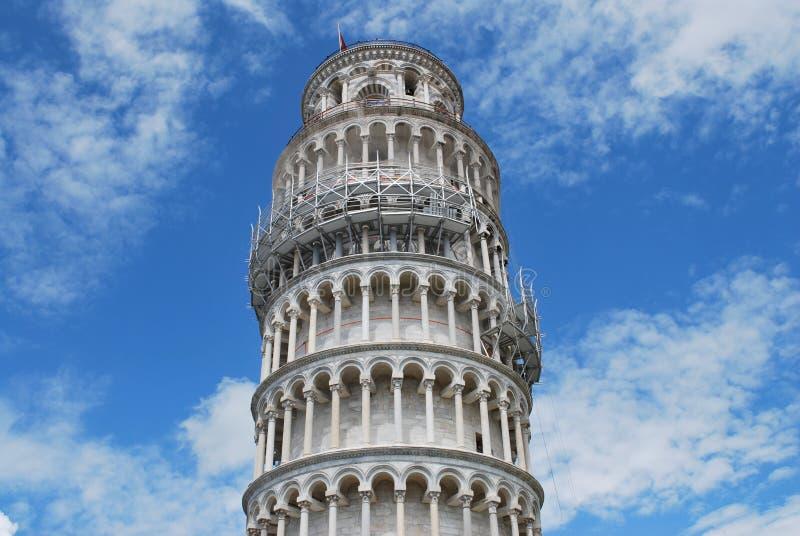Tour penchée de Pise Italie photo libre de droits