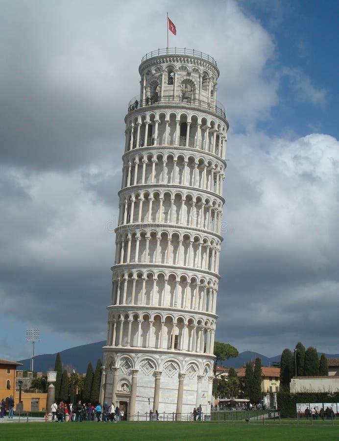 Tour penchée de Pise Italie image libre de droits