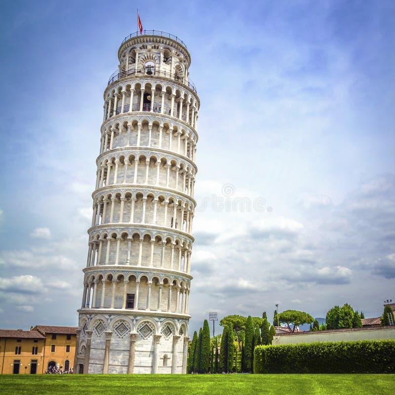 Tour penchée de Pise, Italie photo stock