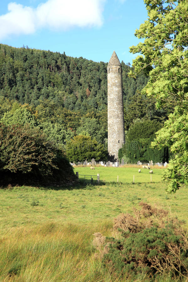 Tour ronde irlandaise. photographie stock