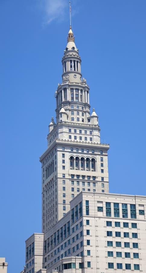 Tour terminale à Cleveland photo stock
