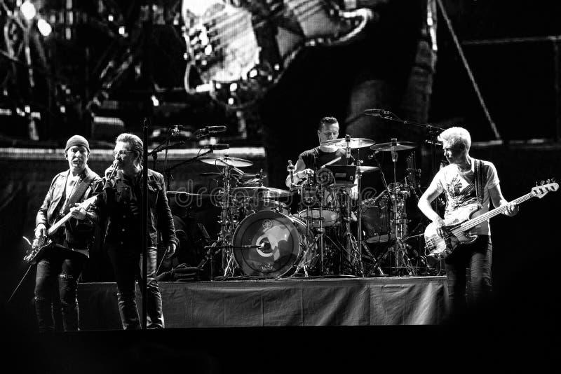 2017 Tour-30th U2 Joshua drzewa Światowa rocznica zdjęcia royalty free