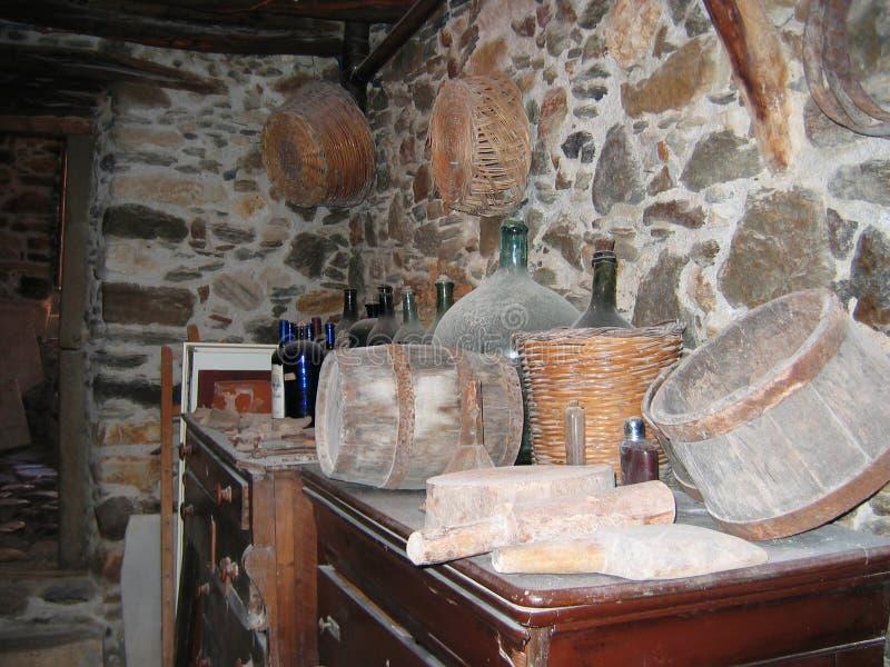 Tour vénitienne de musée à l'île de Naxos de ville de Chora Cyclades Grèce images libres de droits