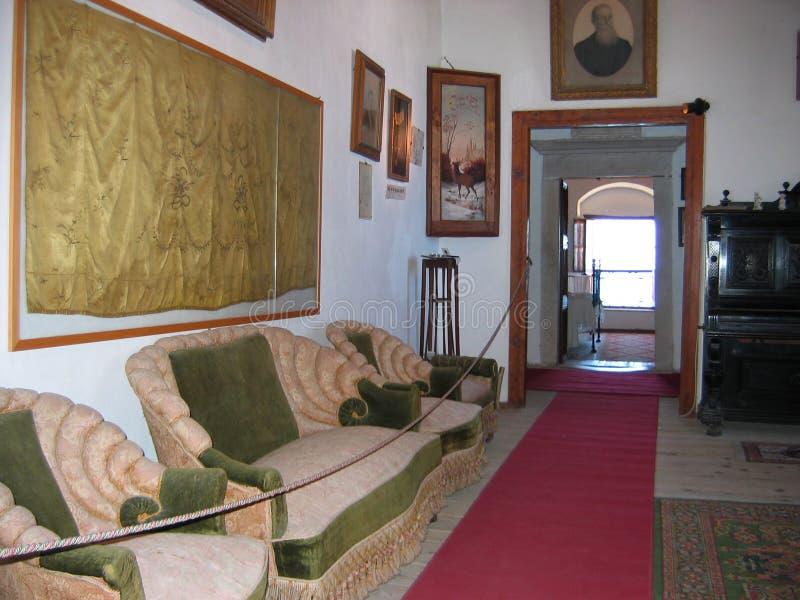 Tour vénitienne de musée à l'île de Naxos de ville de Chora Cyclades Grèce photographie stock libre de droits
