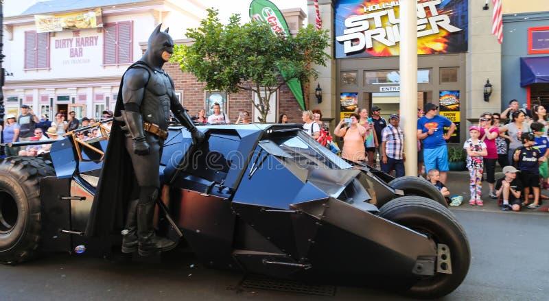 The Tour In Warner Bros Movie World,gold Coast,australia ...
