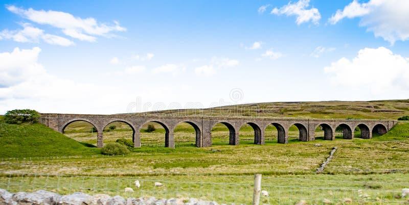 Tourbière de Dandry/viaduc de Moorcock images stock