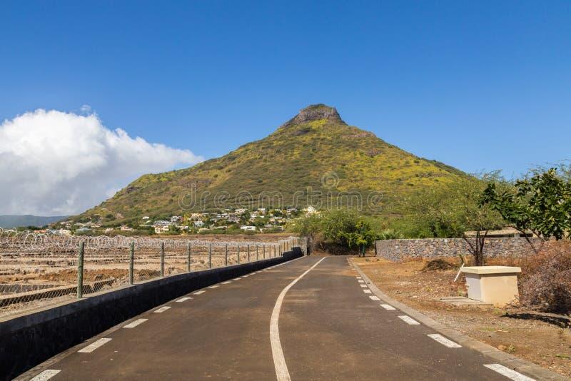 Tourelle du Tamarin Mauritius mit dem Salz salzig lizenzfreie stockbilder
