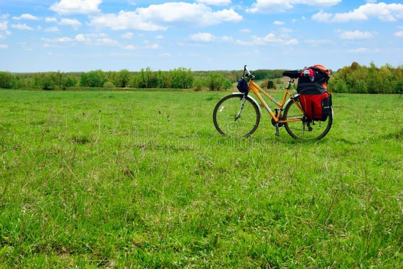 Touring Bicycle Stock Photos