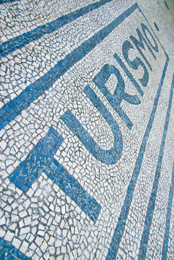 Download Tourism stock photo. Image of pavement, mosaic, portugal - 26409778