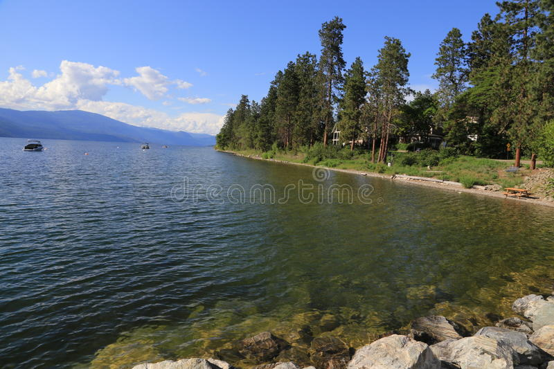 Tourism BC lakefront resorts. Tourism B.C. is all about nature. Beautiful British Columbia is surrounded by forests, lakes rivers, mountains, and relaxation away royalty free stock photos