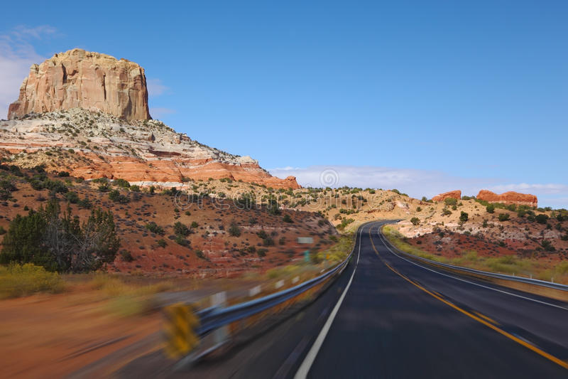 Tourism on high speed. royalty free stock image