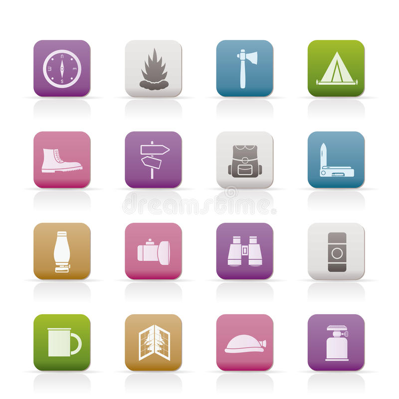 Download Tourism And Holiday Icons Royalty Free Stock Photo - Image: 15270855