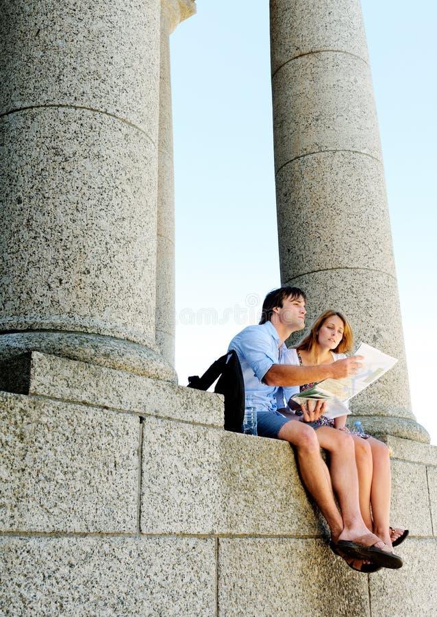 Download Tourism landmark couple stock image. Image of girl, monument - 22774591