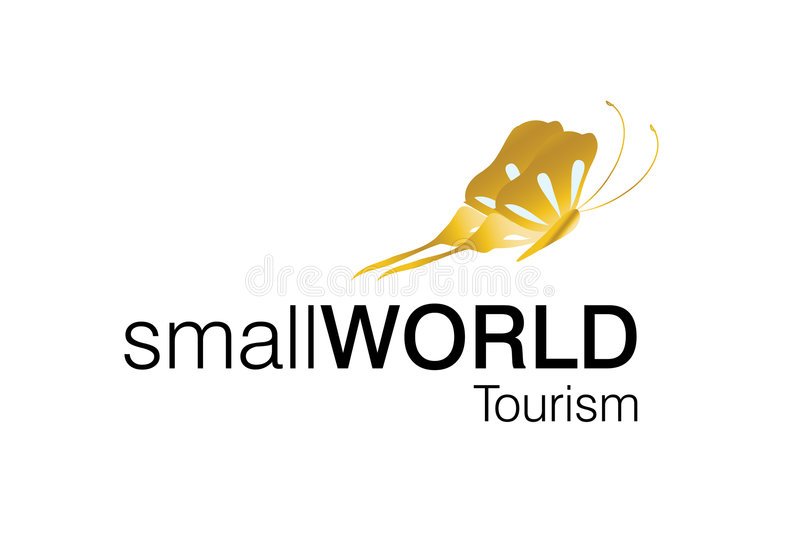 Tourism Logo. Around the world logo, for tourism companies and agencies