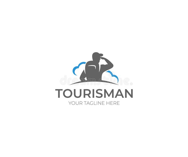 Tourism Logo Template Traveling Vector Design Stock Vector Illustration Of Camping Corporate 104708269
