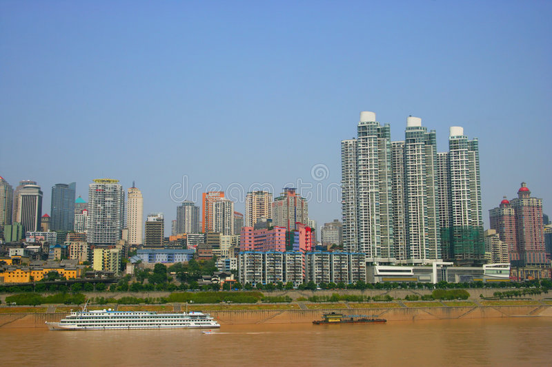 Download Tourism Terminal Side Of The Yangtze River In Chon Stock Photo - Image: 8911260