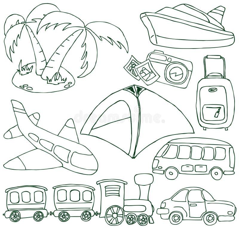 Tourism and transport set