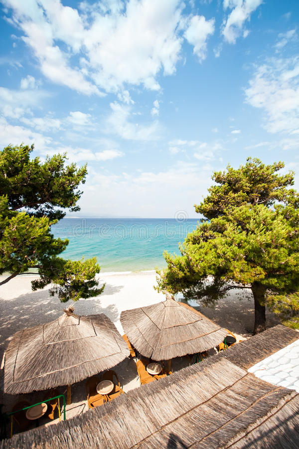 Download Tourism Vacation Beach Bar At Sea Stock Image - Image of summer, tourism: 32285755