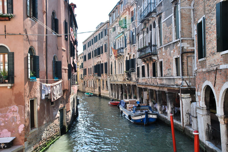 Download Tourism in Venice stock image. Image of strip, gondolas - 25327659