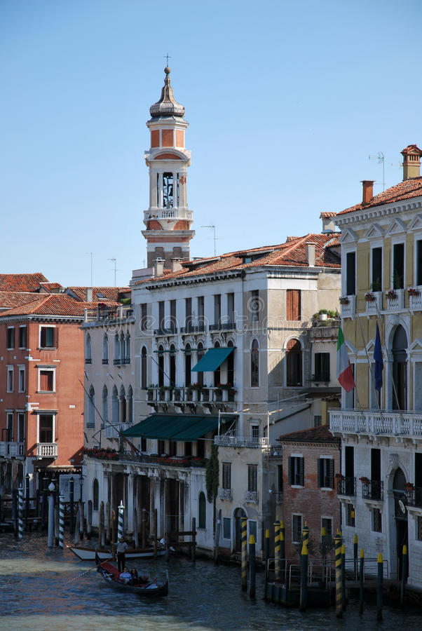 Download Tourism in Venice stock photo. Image of float, campanile - 25328398