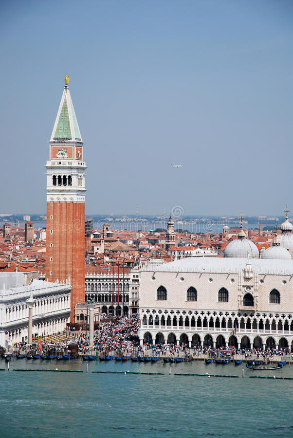 Download Tourism in Venice stock image. Image of house, gondolas - 25337727