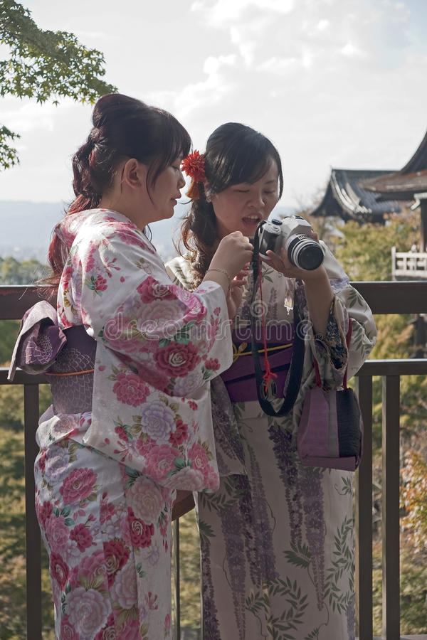 Download Tourism Visitors To The Kiyomizu Temple In Kyoto Editorial Photography - Image of buddhisim, ancient: 28688147