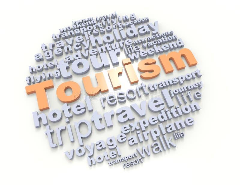 Tourisme illustration libre de droits