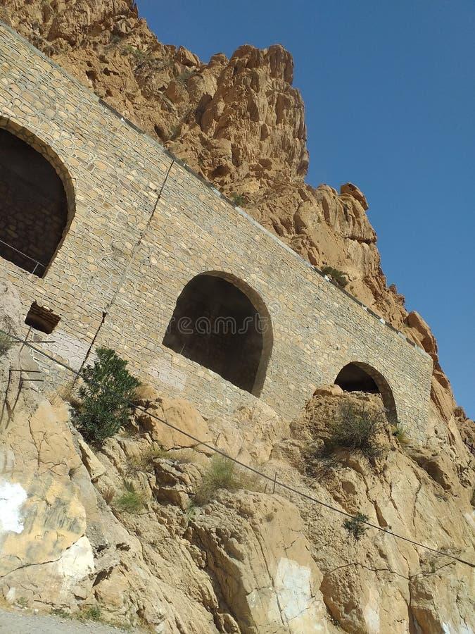 Tourisme Algérie image libre de droits