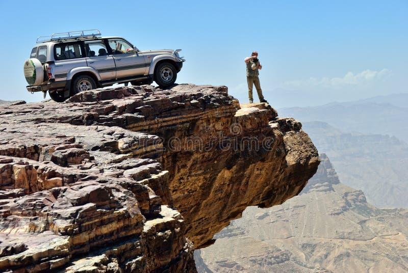 Tourisme d'aventure. Point de destination image libre de droits