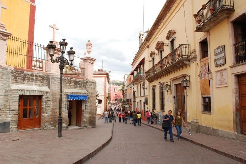 Tourisme de Guanajuato Mexique photo libre de droits
