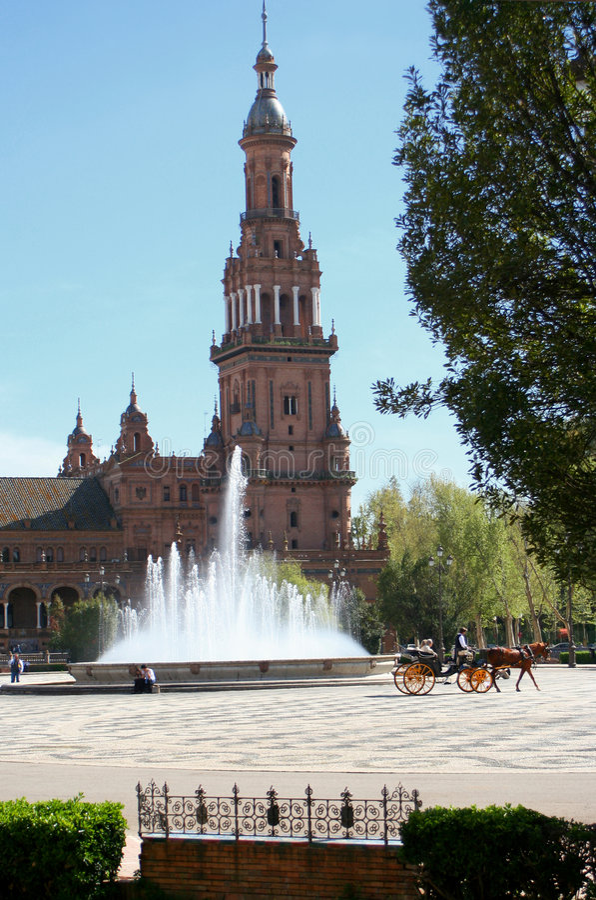 Tourisme de Séville photo stock