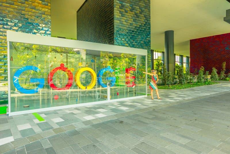 Tourisme de Singapour Google image libre de droits