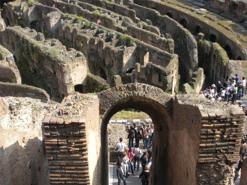 Tourisme du Colosseum à Rome, l'Italie photos stock