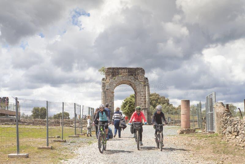 Tourismus in Extremadura, Spanien stockbild