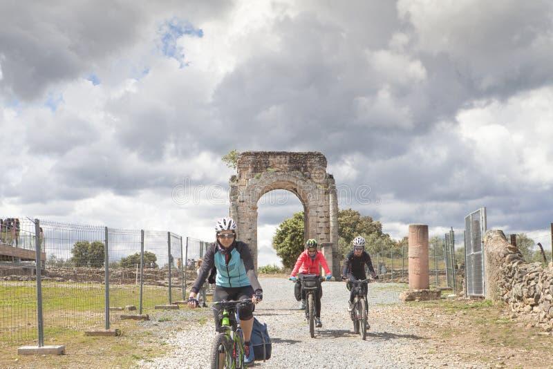 Tourismus in Extremadura, Spanien stockfotos