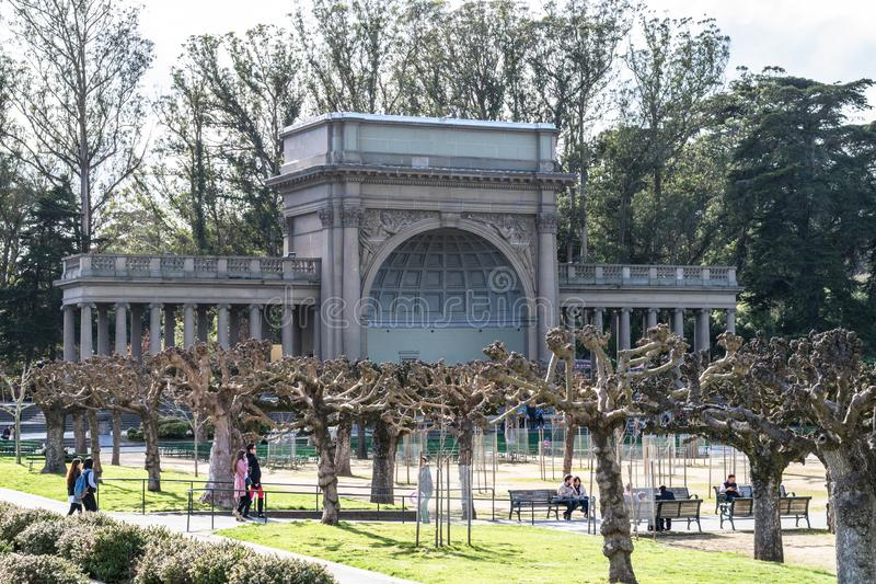 Tourismus in Vereinigten Staaten - San Francisco lizenzfreie stockbilder