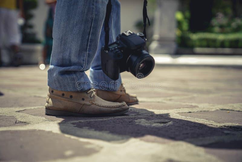 Tourist stockbild