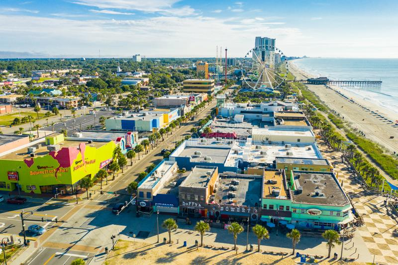 Tourist attractions Myrtle Beach SC. USA stock photography