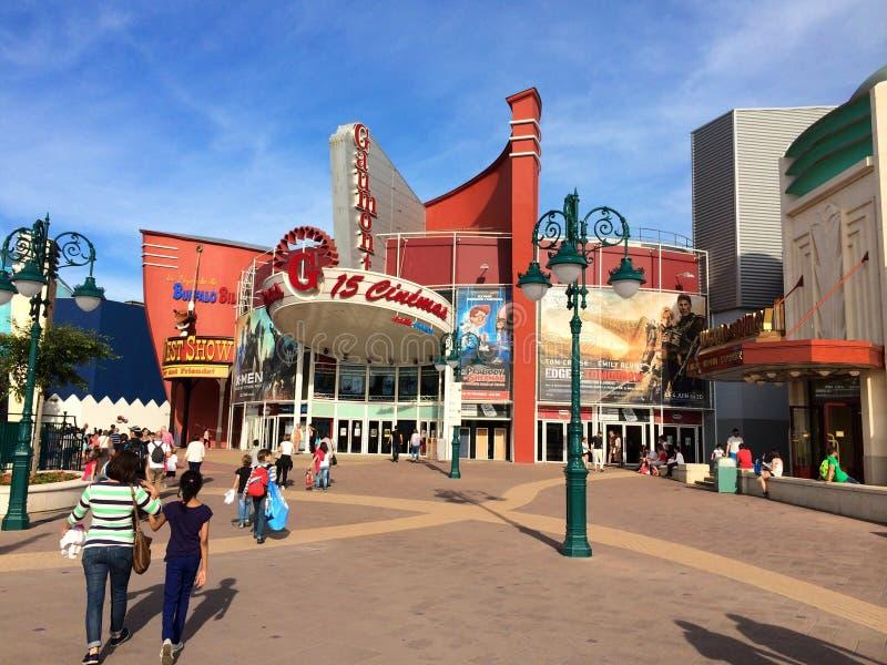 Tourist bei Disneyland Paris frankreich lizenzfreies stockfoto