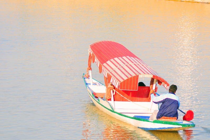 Download Tourist boat stock photo. Image of water, colors, shikara - 8479878