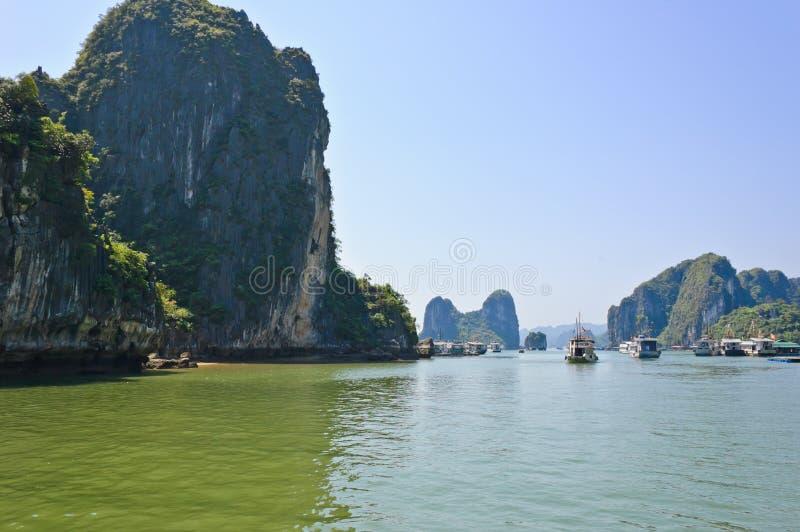 Download Tourist boat at Halong bay stock photo. Image of island - 25603886