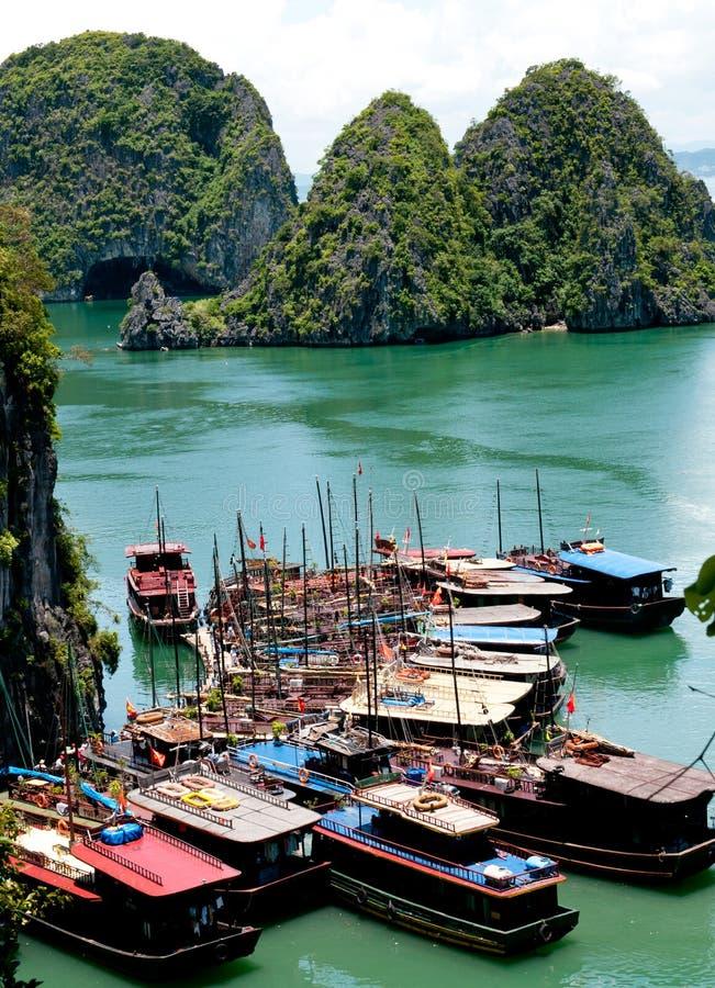 Download Tourist Boats, Halong Bay, Vietnam Stock Photo - Image: 26150080