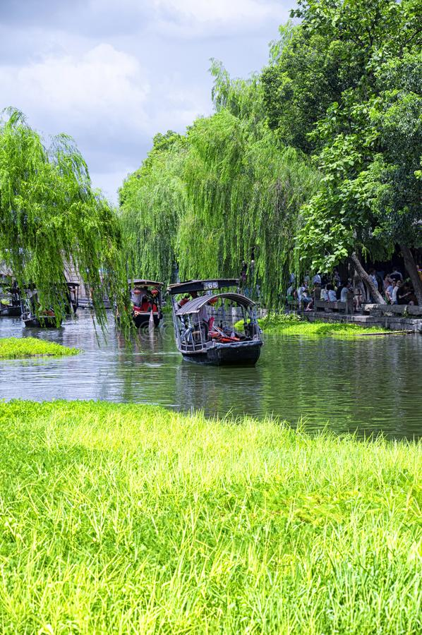 Xitang ancient water Town China royalty free stock images