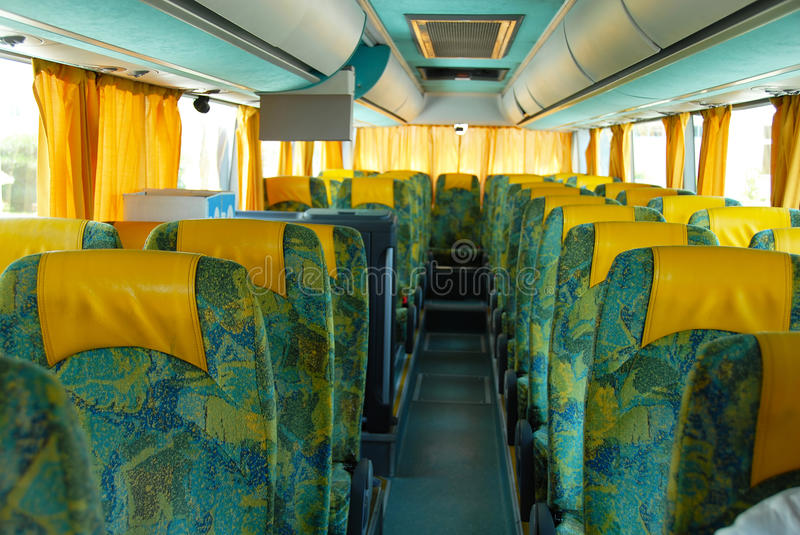 Download Tourist bus stock image. Image of curtains, seat, driving - 16072933