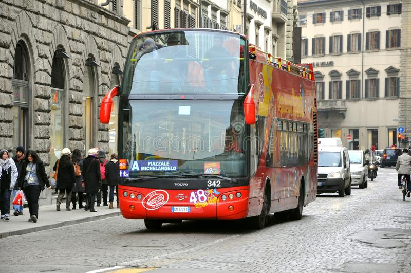 Tourist bus in Italy