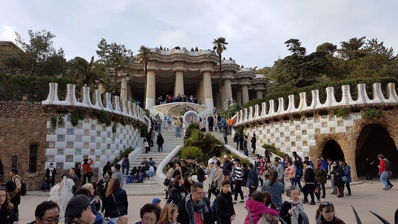 Gaudy park royalty free stock image
